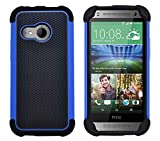 G-Shield Hülle für HTC Mini 2 Stoßfest Schutzhülle - Blau