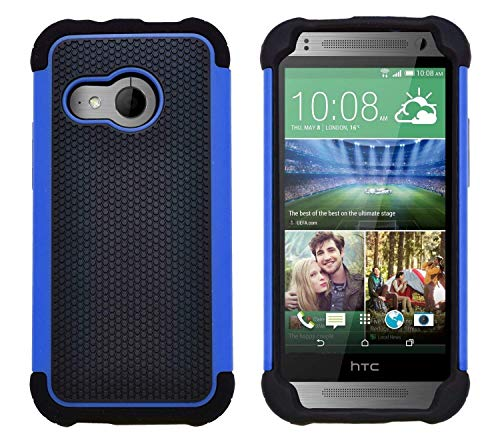 G-Shield Hülle für HTC Mini 2 Stoßfest Schutzhülle - Blau (Htc One Mini 2 Case)