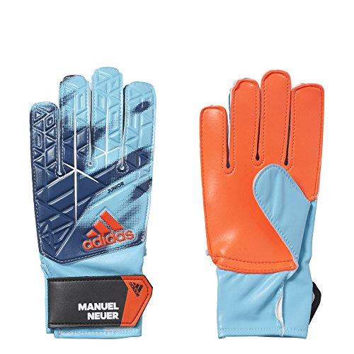 adidas Kinder Ace Junior Manuel Neuer Torwarthandschuhe, Energy Blue S17/Black, 8