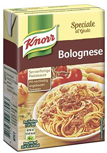 Knorr Speciale al Gusto Bolognese Soße, 8er-Pack (8 x 370 g)