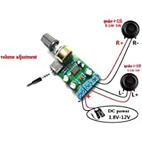 winwill DC1.8 – 12 V tda2822 m amplificador 2.0 canales estéreo ...