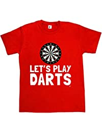 Fancy A Snuggle Let's Play Darts With Dartboard Mens T-Shirt