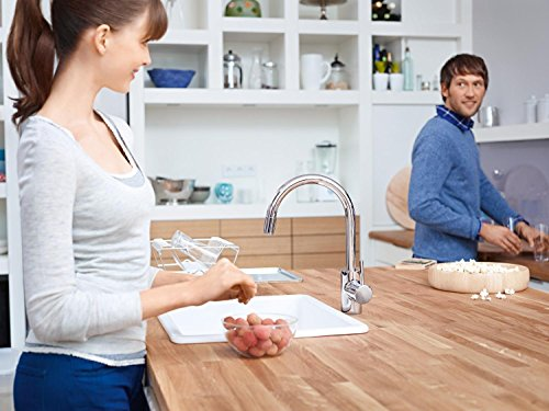 GROHE Concetto Küchenarmatur mit ausziehbarer Brause - 32663001