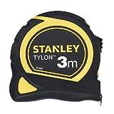 STANLEY 0-30-687 Flessometro Tylon 3m , nastro da 12,7mm, con clip di aggancio