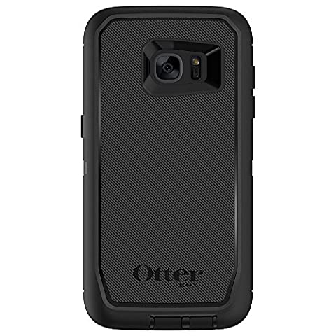 OtterBox Defender Series Cover Case for Samsung Galaxy S7 Edge - Black
