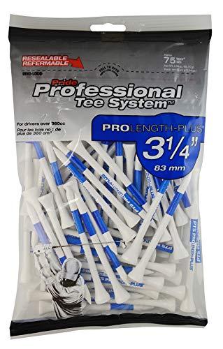 Pride Unisex-Adult PTS Wooden 3 1/4 Bag of 75 Tees, Blau, Keine Angaben