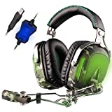 Best Aviation Headsets - SADES A90 Pilot 7.1 USB Surround Sound Stereo Review
