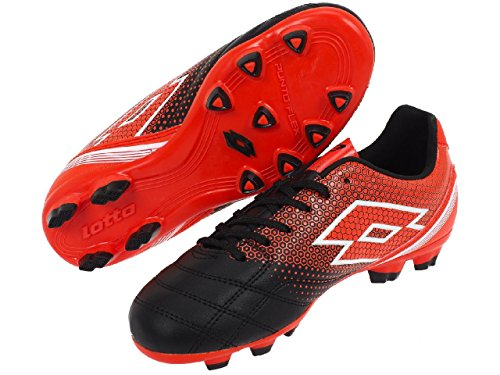 Lotto - Spider 700xiii foot jr - Chaussures football moulées Rouge