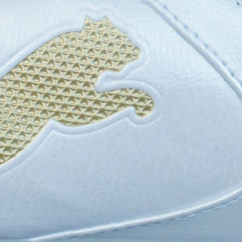 Puma PowerCat 2.10 Synth Grass Homme en cuir Chaussures de football Blanc