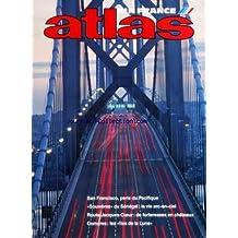 ATLAS AIR FRANCE du 01/08/1986 - SAN FRANCISCO - PERLE DU PACIFIQUE PAR MULARD ET VAUTIER - ALINE DE NAXE - SOUWERES - DU SENEGAL PAR COLLET ET RENAUDEAU - COMORES - LES ILES DE LA LUNE PAR MUHEIM-COLOMBANI - LEPAGE - ROUTE JACQUES-COEUR - DEFORTERESSES EN CHATEAUX PAR PH. LEVEE