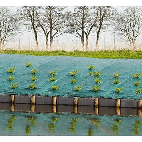 Toile de paillage paysages - vert 90 gr/m² - 1x10m