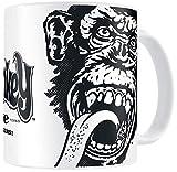 Gas Monkey Garage Logo Tasse weiß, Standard, Weiß