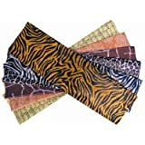 24 Sheets of Animal Print Tissue Papers Suitable for Decopatch