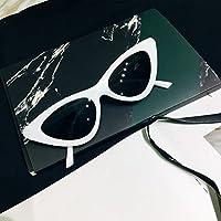 Burenqi Creux rétro lunettes rondes Lunettes tendance Lunettes de tir de la rue,D