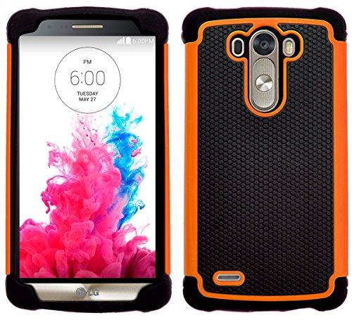 G-Shield Hülle für LG G3 Stoßfest Schutzhülle - Orange