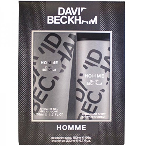 David Beckham cadeaux Set Homme New Design, pack de 1 : 1 x 1er