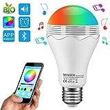 Bombilla LED Bluetooth Altavoz, Minger Altavoz Música LED - Best Reviews Guide