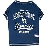 Pet Tee Shirt für Hunde und Katzen, MLB T-Shirt, Baseball-T-Shirt, 25 Teams in 4 Größen erhältlich