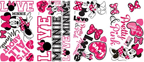 Joy Toy Minnie Mouse - Pegatinas para pared y cristal