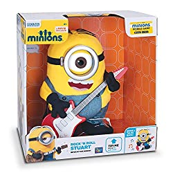 Minions Movie Talking Rock N Roll Stuart