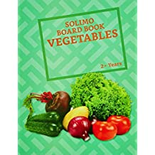 Amazon Brand - Solimo Long Board Book, Vegetables