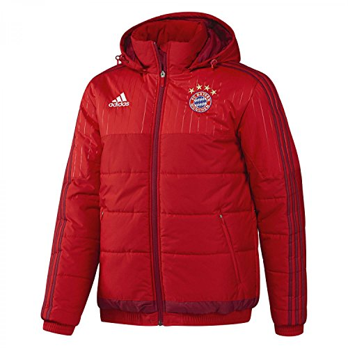 Invierno Adidas Acolchada Para De Chaqueta Hombre Fc Bayern rAEqrwF