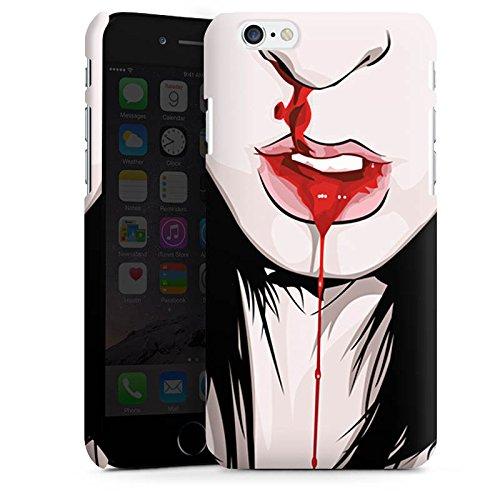 Apple iPhone X Silikon Hülle Case Schutzhülle Nase Nasenbluten Mädchen Premium Case matt