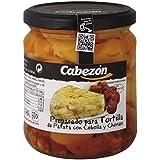 Conservas Cabezón Frasco de Preparado Para Tortilla de Patata con Chorizo - 340 gr