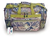 20 Explorer Mossy Oak -Realtree Like- Hunting Camo Heavy Duty Duffel Bag - Luggage Travel Gear Bag- Removable Shoulder Strap by Explorer
