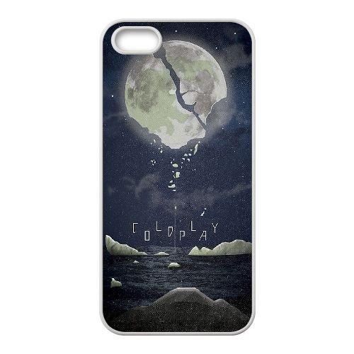 Coldplay coque iPhone 4 4S Housse Blanc téléphone portable couverture de cas coque EBDXJKNBO16973
