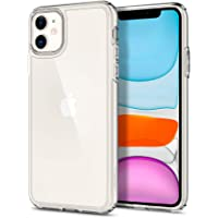 Spigen Ultra Hybrid, Back Cover Case Designed for iPhone 11 (2019) - Crystal Clear