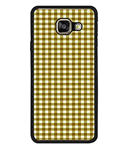 FUSON Designer Back Case Cover for Samsung Galaxy A3 (6) 2016 :: Samsung Galaxy A3 2016 Duos :: Samsung Galaxy A3 2016 A310F A310M A310Y :: Samsung Galaxy A3 A310 2016 Edition (Seamless Pattern Blue Design Drawing )