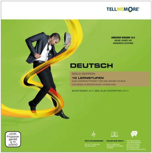 Tell me More Deutsch als Fremdsprache. 10 Lernstufen. Version 10.5 DVD-ROM für Windows 7; Vista; XP