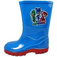 PJ MASKS Childrens Kids Infant Wellington Boots 5-10 (6 UK)