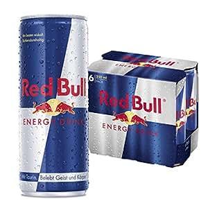 red bull energy drink 6er pack einweg 6 x 250ml dosen. Black Bedroom Furniture Sets. Home Design Ideas