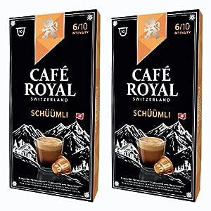 Café Royal schueuemli, caffè, caffè tostato, Capsule, Nespresso Compatibile, 20Capsule 3
