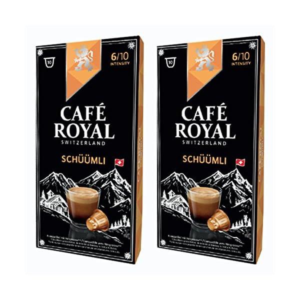 51OIlCX2a-L._SS600_ Café Royal schueuemli, caffè, caffè tostato, Capsule, Nespresso Compatibile, 20Capsule