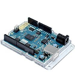 Premium transparente carcasa para Arduino UNO, Leonardo, cero, M0, Ethernet, genuino y todos uno forma juntas RoHS