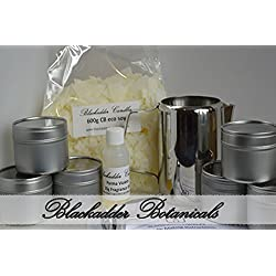 Anfänger Kerze Making-Kit 100% Soja (Dosen) fruchtigen und festlichen Düfte
