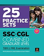 SSC CGL Practice Sets Pre Exam Tier I 2018