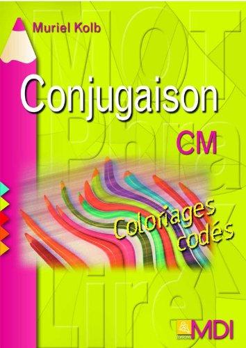 Coloriages codés Conjugaison CM par Muriel Kolb