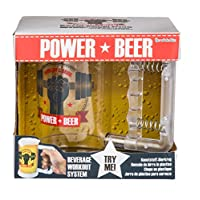 WW Global Trading Lager Drinkers Gift/Present - Novelty Work Out and Drink/Drinking Glass