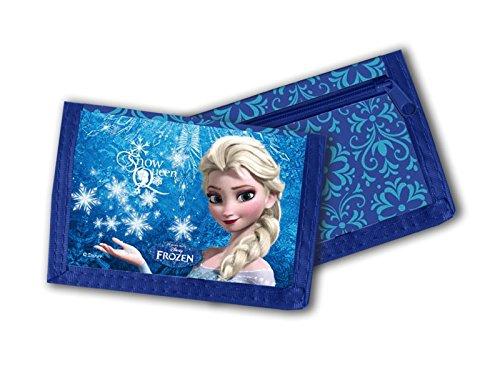 Disney Frozen Die Eiskönigin Kinder Geldbörse Blau
