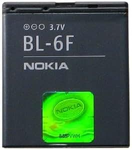 Nokia BL-6F/BL6F Lithium Ion Battery for Nokia N78/N79/N95 - Original OEM - Non-Retail Packaging - Black