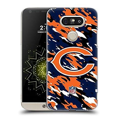 Official NFL Camou Chicago Bears Logo Hard Back Case for LG G5 SE / G5 Lite