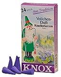 Incenso Coni - Viola - Autentica tedesco Erzgebirge I fumatori - Knox
