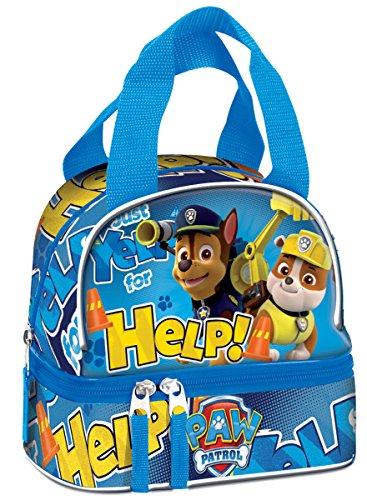 Paw Patrol Lunchtasche Yelp for Help, für die Schule, englische Aufschrift, 53558