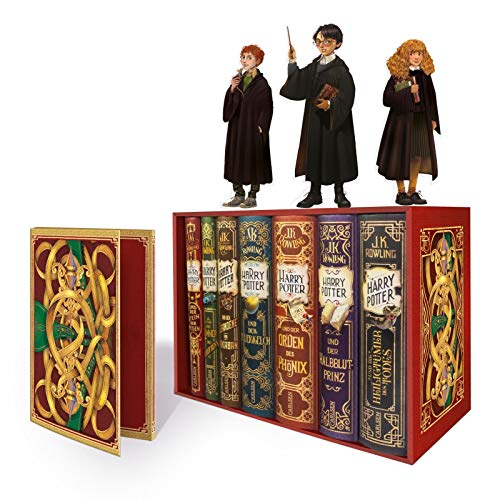 Harry Potter: Band 1-7 im Schuber - mit exklusivem Extra! (Harry Potter ) Sammlung 7