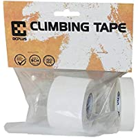 8cplus CLIO215B Climbing Tape, Blanco 1,5cm x 10 m