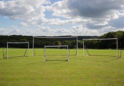 QUICKPLAY Kickster Academy Tragbares 2,4 x 1,5m Fußballtor - 7